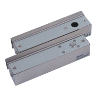 Ответная планка для стеклянной двери без рамы YLI ELECTRONIC ABK-700
